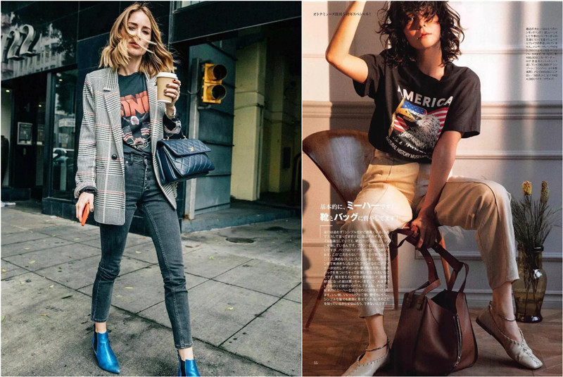 18 Chic Graphic T-shirts for 2019