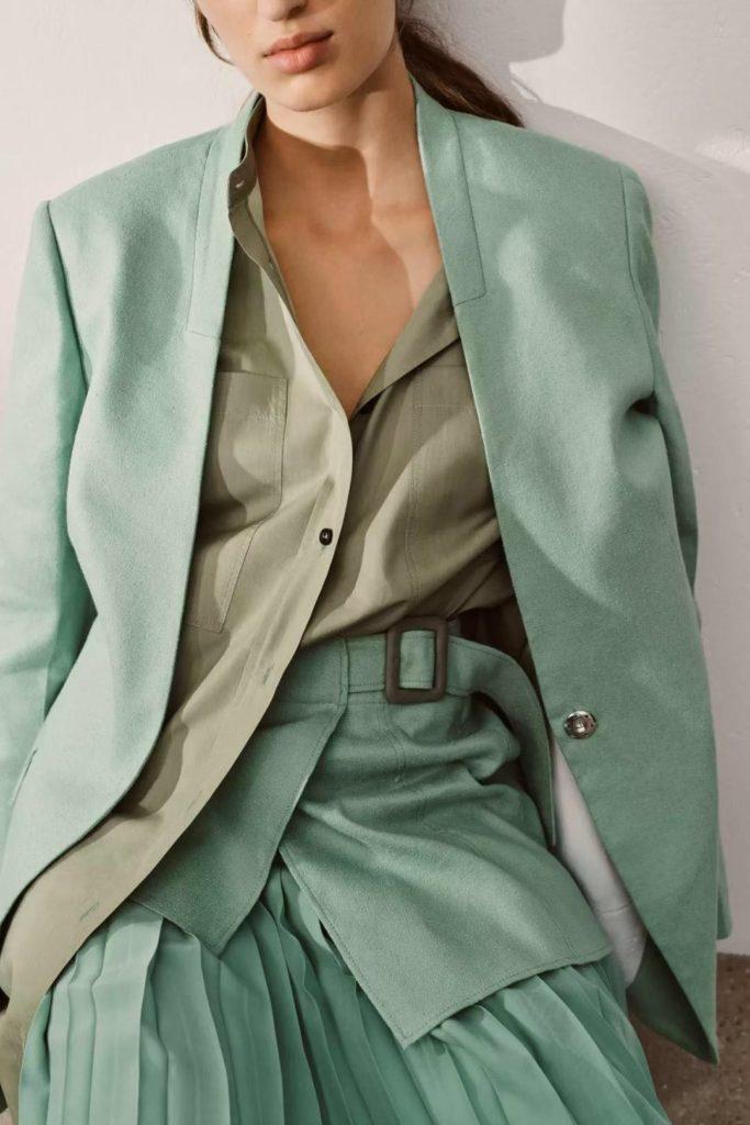 funky mint green long shirt dress that work