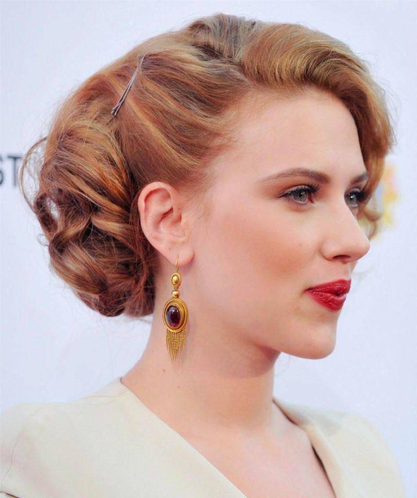 unique golden linear earrings