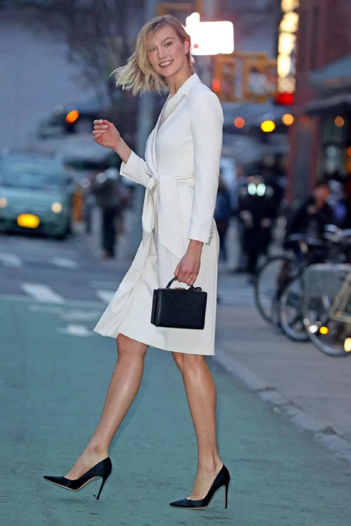 handsome and chic white dress for any occasion