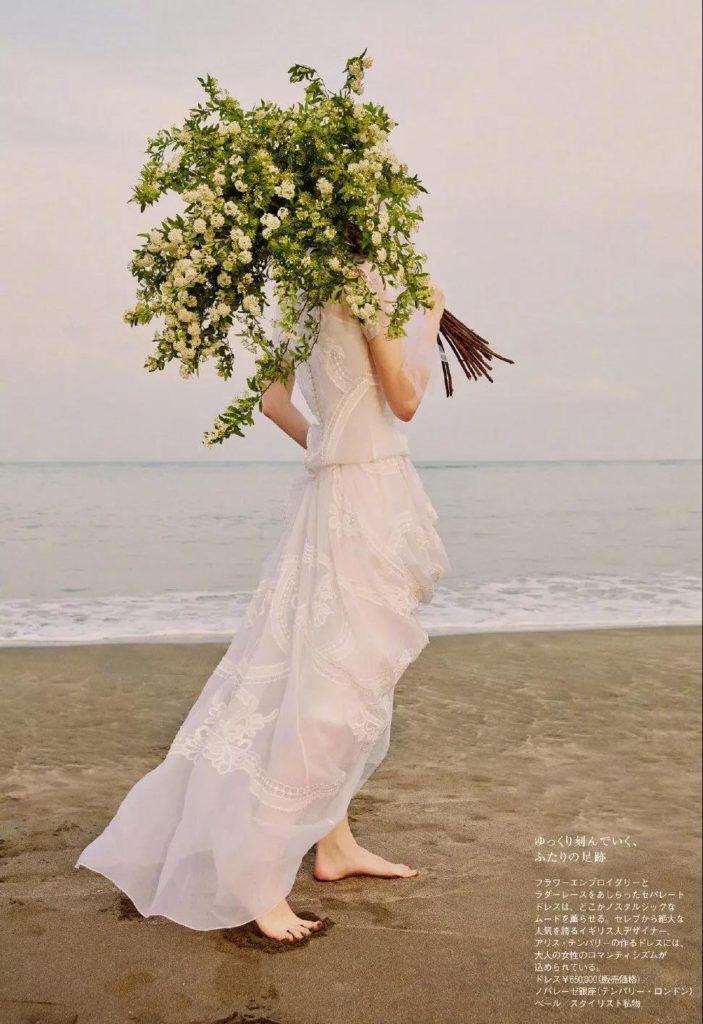timeless chiffon white dress