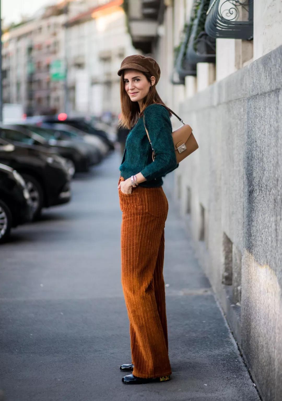 Chic caramel corduroy pants you will love