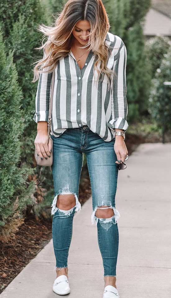 Casual Women Spring Outfits to Copy for 2021