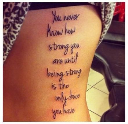 Meaningful Tattoo Quotes Ideas to Inspire