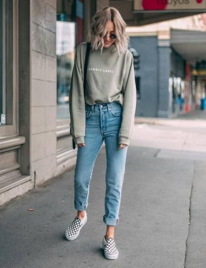 Trendy and Casual Outfits with Vans