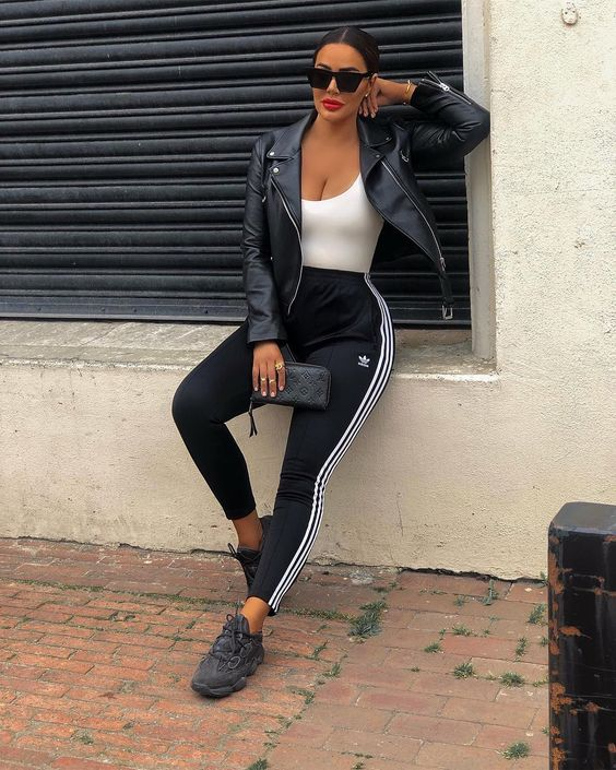 Awesome Adidas Legging Outfits Ideas to Steal