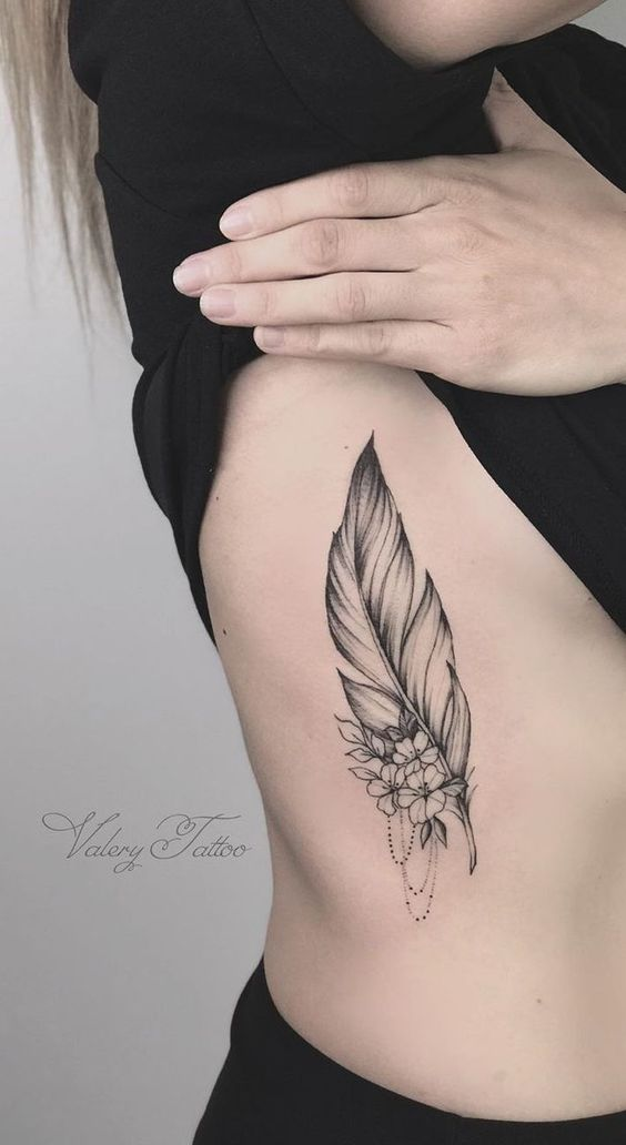 Brilliant Feather Tattoo Designs to Impress
