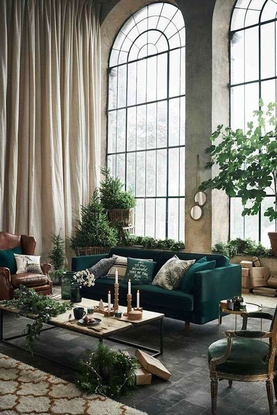 Fabulous Green Interior Decoration Ideas to Wow