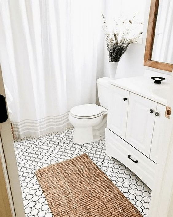 Genius Small Bathroom Décor Ideas