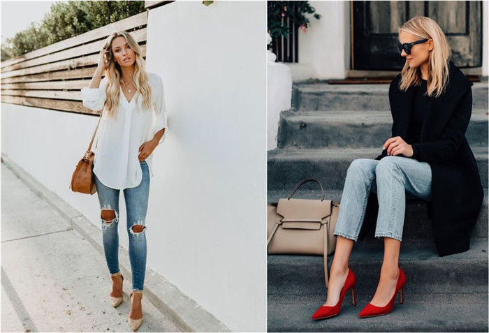 28 Awesome Jeans Outfits with High