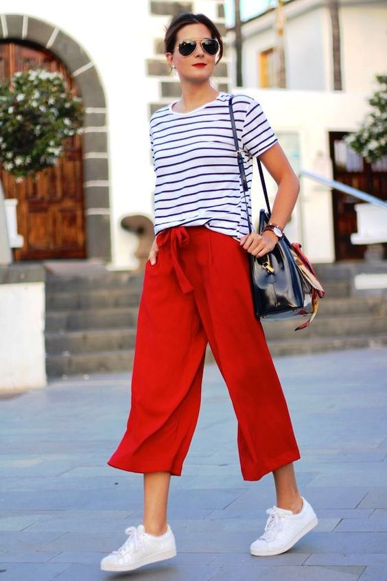 Chic and Modern Culotte Outfits for 2020
