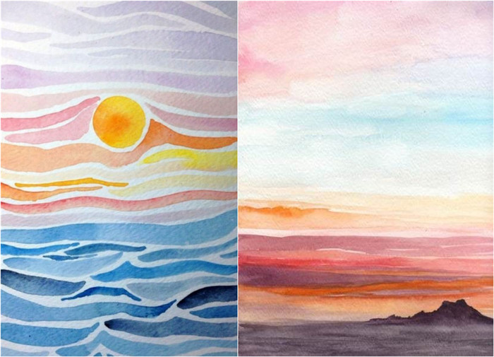 29 Creative Watercolor Painting Ideas For Beginners Fancy About Everything